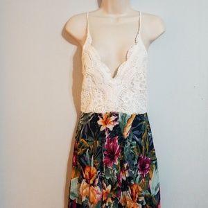 Haute Monde women's floral dress size large